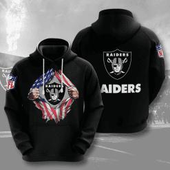 NFL Oakland Raiders 3D Hoodie V2