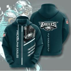 NFL Philadelphia Eagles 3D Hoodie V2
