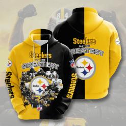 NFL Pittsburgh Steelers 3D Hoodie V2