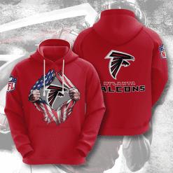 NFL Atlanta Falcons 3D Hoodie V2