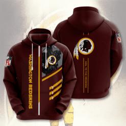 NFL Washington Redskins 3D Hoodie V2