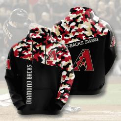 MLB Arizona Diamondbacks 3D Hoodie V2