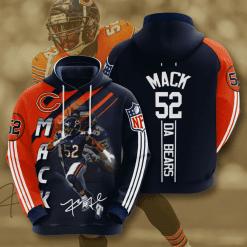 NFL Chicago Bears 3D Hoodie V2