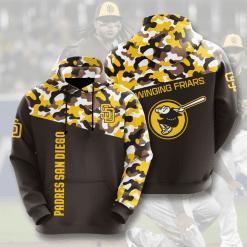MLB San Diego Padres 3D Hoodie V2