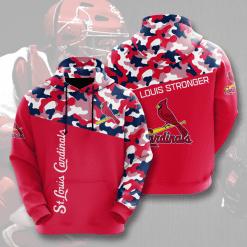 MLB St. Louis Cardinals 3D Hoodie V2