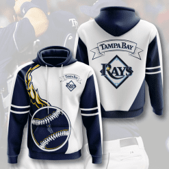 MLB Tampa Bay Rays 3D Hoodie V2