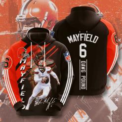 NFL Cleveland Browns 3D Hoodie V2