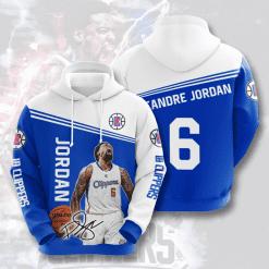 NBA LA Clippers 3D Hoodie V2