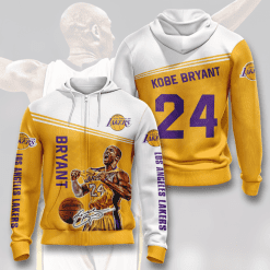 NBA Los Angeles Lakers 3D Hoodie V2