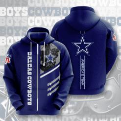 NFL Dallas Cowboys 3D Hoodie V2