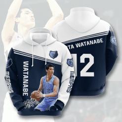 NBA Memphis Grizzlies 3D Hoodie V2