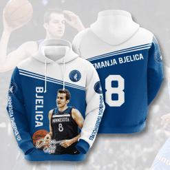 NBA Minnesota Timberwolves 3D Hoodie V2