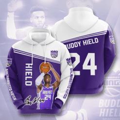 NBA Sacramento Kings 3D Hoodie V2