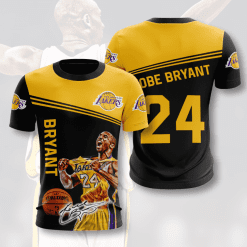 NBA Los Angeles Lakers 3D T-Shirt V2