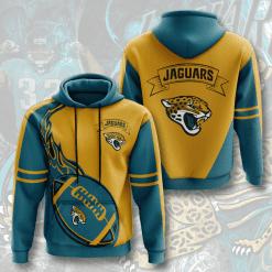 NFL Jacksonville Jaguars 3D Hoodie V3