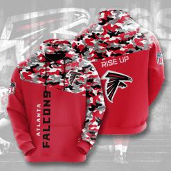 NFL Atlanta Falcons 3D Hoodie V3