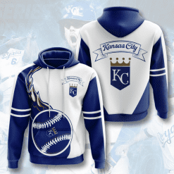 MLB Kansas City Royals 3D Hoodie V3