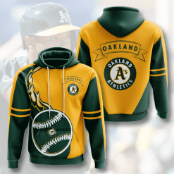 MLB Oakland Athletics 3D Hoodie V3