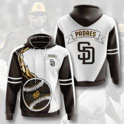 MLB San Diego Padres 3D Hoodie V3