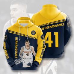 NBA Denver Nuggets 3D Hoodie V3