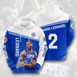 NBA LA Clippers 3D Hoodie V3