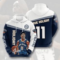 NBA New Orleans Pelicans 3D Hoodie V3