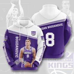 NBA Sacramento Kings 3D Hoodie V3