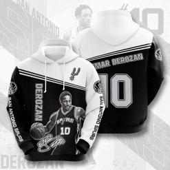 NBA San Antonio Spurs 3D Hoodie V3