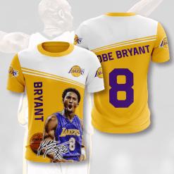 NBA Los Angeles Lakers 3D T-Shirt V3