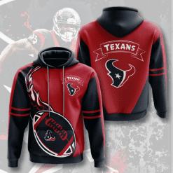 NFL Houston Texans 3D Hoodie V4