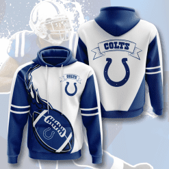 NFL Indianapolis Colts 3D Hoodie V4