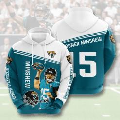 NFL Jacksonville Jaguars 3D Hoodie V4