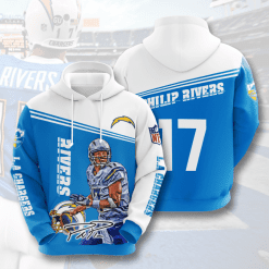 NFL Los Angeles Chargers 3D Hoodie V4