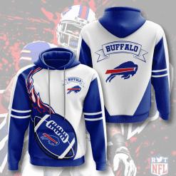 NFL Buffalo Bills 3D Hoodie V4
