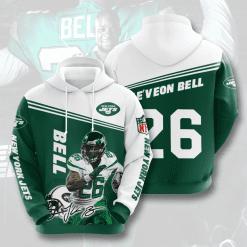 NFL New York Jets 3D Hoodie V4