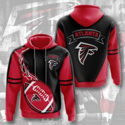 NFL Atlanta Falcons 3D Hoodie V4