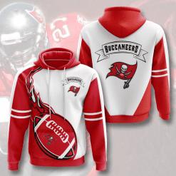 NFL Tampa Bay Buccaneers 3D Hoodie V4