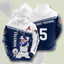 MLB Atlanta Braves 3D Hoodie V4