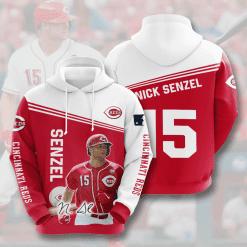 MLB Cincinnati Reds 3D Hoodie V4