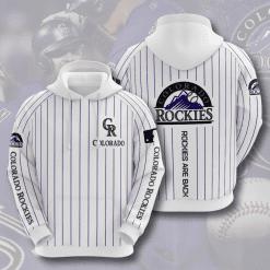 MLB Colorado Rockies 3D Hoodie V4