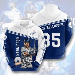 MLB Los Angeles Dodgers 3D Hoodie V4