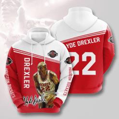 NBA Houston Rockets 3D Hoodie V4