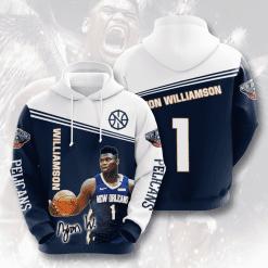 NBA New Orleans Pelicans 3D Hoodie V4