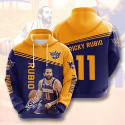NBA Phoenix Suns 3D Hoodie V4
