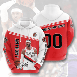 NBA Portland Trail Blazers 3D Hoodie V4