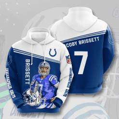 NFL Indianapolis Colts 3D Hoodie V5