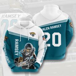 NFL Jacksonville Jaguars 3D Hoodie V5