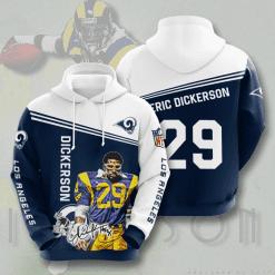 NFL Los Angeles Rams 3D Hoodie V5