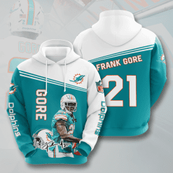 NFL Miami Dolphins 3D Hoodie V5