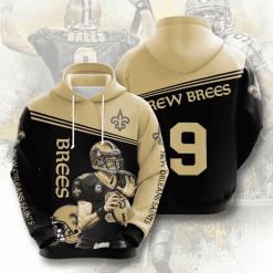 NFL New Orleans Saints 3D Hoodie V5